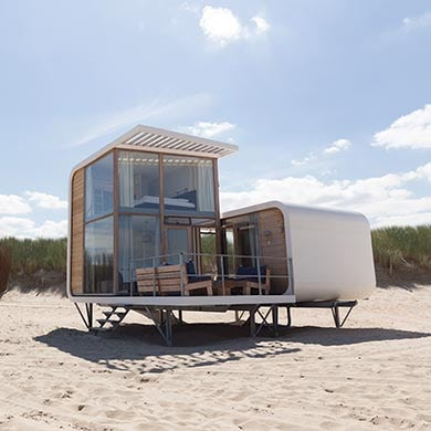 beach houses in the netherlands