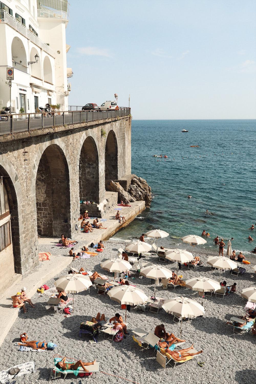 La Gavitella beach amalfi beaches