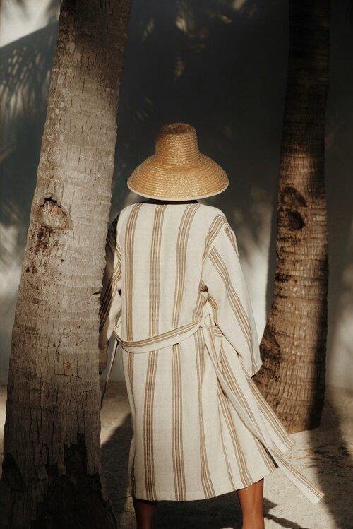 kimono robe handwoven mizar & alcor