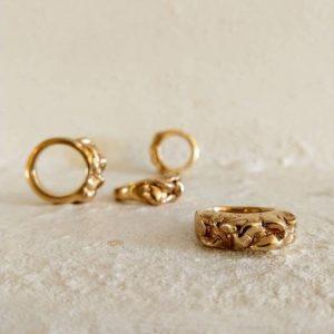 The Rock ring handmade jewellery